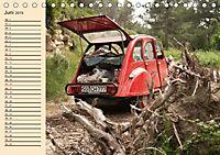 Citroën 2CV - Ente rot (Tischkalender 2019 DIN A5 quer) - Produktdetailbild 6