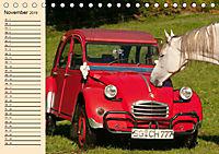 Citroën 2CV - Ente rot (Tischkalender 2019 DIN A5 quer) - Produktdetailbild 11