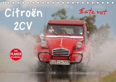 Citroën 2CV - Ente rot (Tischkalender 2019 DIN A5 quer), Meike Bölts