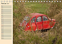 Citroën 2CV - Ente rot (Tischkalender 2019 DIN A5 quer) - Produktdetailbild 2