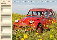Citroën 2CV - Ente rot (Tischkalender 2019 DIN A5 quer) - Produktdetailbild 7