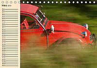 Citroën 2CV - Ente rot (Tischkalender 2019 DIN A5 quer) - Produktdetailbild 3