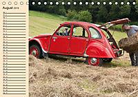 Citroën 2CV - Ente rot (Tischkalender 2019 DIN A5 quer) - Produktdetailbild 8