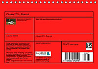 Citroën 2CV - Ente rot (Tischkalender 2019 DIN A5 quer) - Produktdetailbild 13
