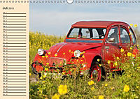 Citroën 2CV - Ente rot (Wandkalender 2019 DIN A3 quer) - Produktdetailbild 7