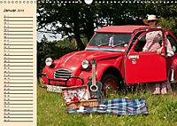 Citroën 2CV - Ente rot (Wandkalender 2019 DIN A3 quer) - Produktdetailbild 1