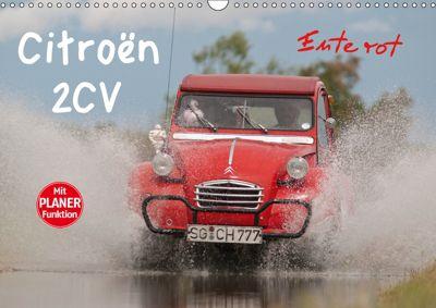 Citroën 2CV - Ente rot (Wandkalender 2019 DIN A3 quer), Meike Bölts