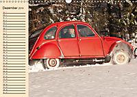 Citroën 2CV - Ente rot (Wandkalender 2019 DIN A3 quer) - Produktdetailbild 12