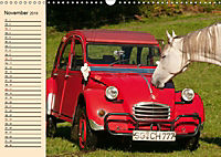 Citroën 2CV - Ente rot (Wandkalender 2019 DIN A3 quer) - Produktdetailbild 11