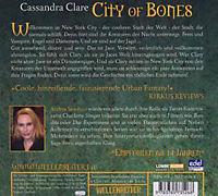 City of Bones, 6 Audio-CDs - Produktdetailbild 1