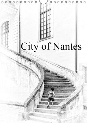 City of Nantes (Wall Calendar 2019 DIN A4 Portrait), Ivelina Ilieva