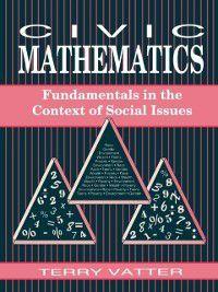 Civic Mathematics, Terry Vatter