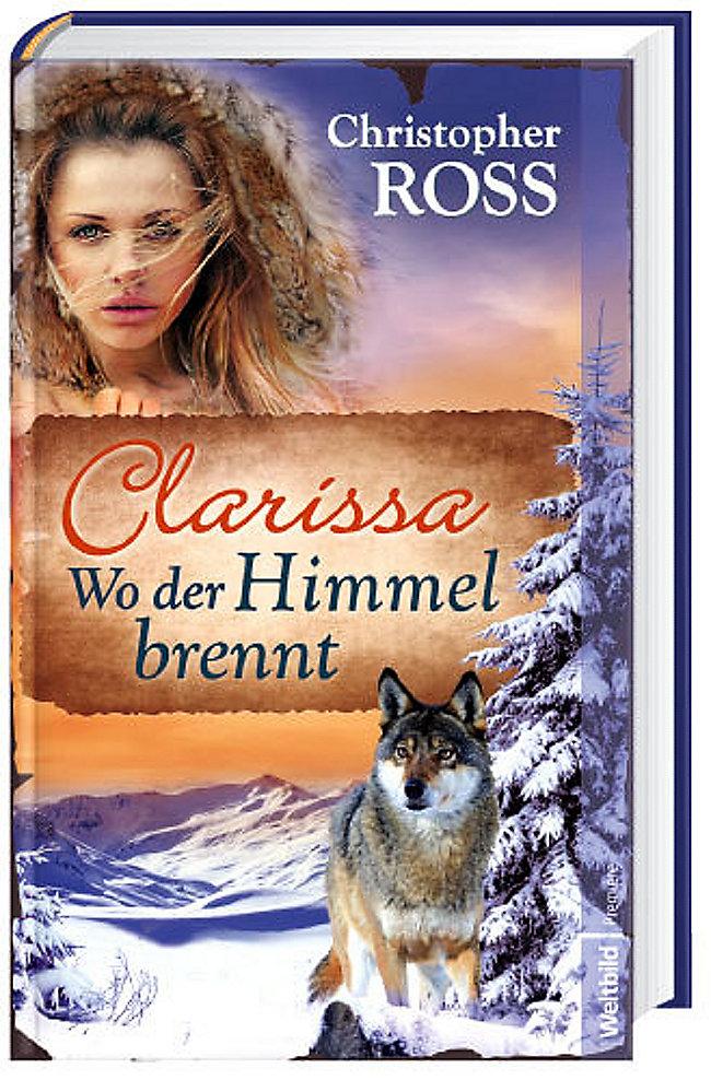 Clarissa - Wo der Himmel brennt Cover