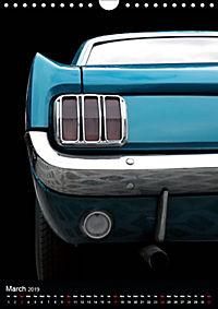 Classic Car Special - Wild Pony (Wall Calendar 2019 DIN A4 Portrait) - Produktdetailbild 3