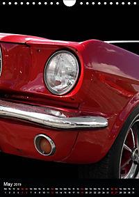 Classic Car Special - Wild Pony (Wall Calendar 2019 DIN A4 Portrait) - Produktdetailbild 5