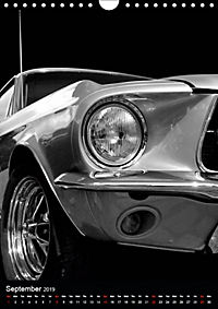 Classic Car Special - Wild Pony (Wall Calendar 2019 DIN A4 Portrait) - Produktdetailbild 9