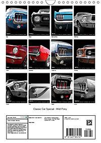 Classic Car Special - Wild Pony (Wall Calendar 2019 DIN A4 Portrait) - Produktdetailbild 13