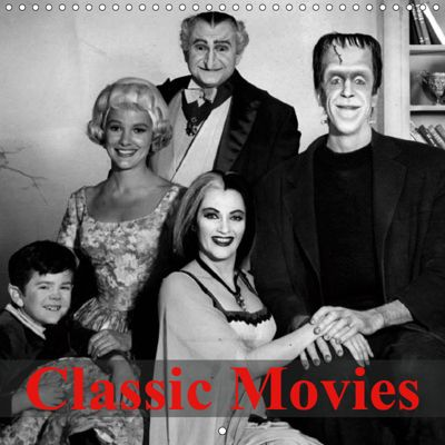 Classic Movies (Wall Calendar 2019 300 × 300 mm Square), Elisabeth Stanzer