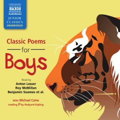 Classic Poems for Boys (Unabridged)
