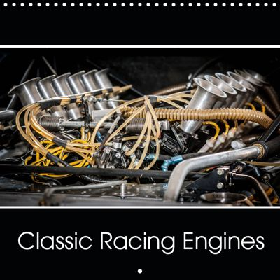 Classic Racing Engines (Wall Calendar 2019 300 × 300 mm Square), Michiel Mulder / Corsa Media