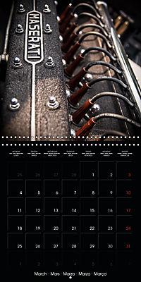 Classic Racing Engines (Wall Calendar 2019 300 × 300 mm Square) - Produktdetailbild 3