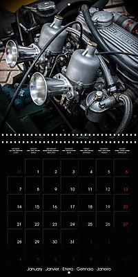 Classic Racing Engines (Wall Calendar 2019 300 × 300 mm Square) - Produktdetailbild 1