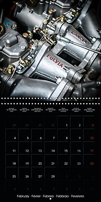 Classic Racing Engines (Wall Calendar 2019 300 × 300 mm Square) - Produktdetailbild 2