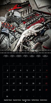 Classic Racing Engines (Wall Calendar 2019 300 × 300 mm Square) - Produktdetailbild 9