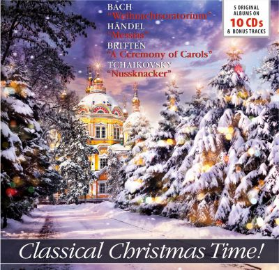 Classical Christmas Time!, 10 CDs, Various