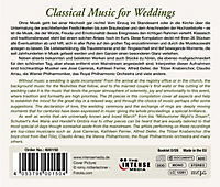 Classical Music For Weddings - Produktdetailbild 1