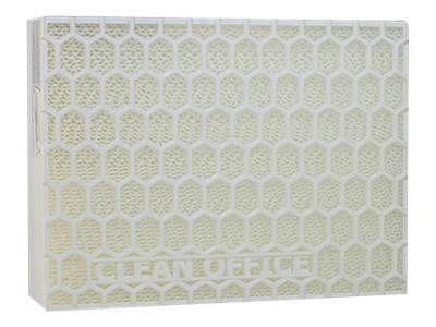 CLEAN OFFICE Feinstaubfilter 2 Filter je Schachtel fuer Laserdrucker Kopierer Schutz vor Toner Feinstaub Filtergroesse 150 x 120 mm