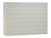 CLEAN OFFICE Feinstaubfilter 2 Filter je Schachtel fuer Laserdrucker Kopierer Schutz vor Toner Feinstaub Filtergroesse 150 x 120 mm - Produktdetailbild 1