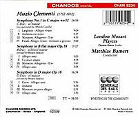 Clementi (Sinfonien) - Produktdetailbild 1