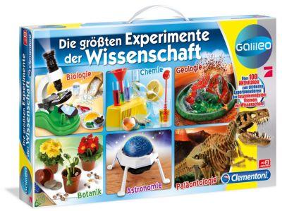 Clementoni - Die größten Experimente der Wissenschaft - Galileo