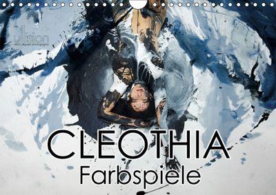 Cleothia Farbspiele (Wandkalender 2019 DIN A4 quer), Ulrich Allgaier