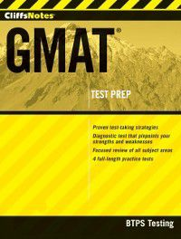 CliffsNotes GMAT, BTPS Testing