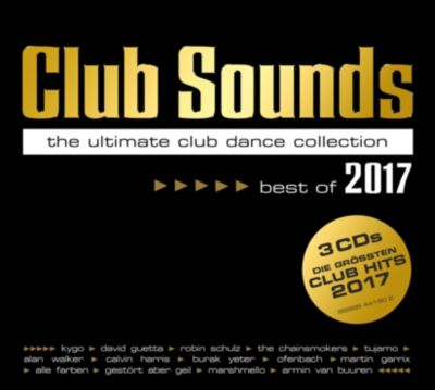 Club Sounds - Best Of 2017 (3 CDs), Various