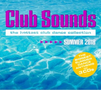 Club Sounds Summer 2018 (3 CDs), Various