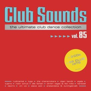 Club Sounds Vol. 85 (3 CDs), Diverse Interpreten