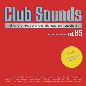 Club Sounds Vol. 85 (3 CDs), Diverse Interpreten