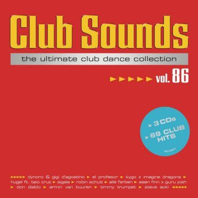 Club Sounds Vol. 86 (3 CDs), Diverse Interpreten