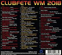 Clubfete WM 2018: 63 Club WM & Party Hits (3 CDs) - Produktdetailbild 1