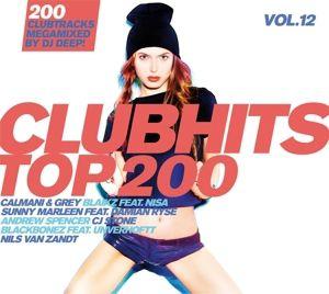 Clubhits Top 200 Vol.12, Diverse Interpreten