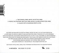 Cluster Ensemble Plays Philip Glass - Produktdetailbild 1