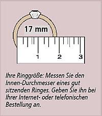 """CM Ring """"Azurro"""", SI 925er - Produktdetailbild 2"""