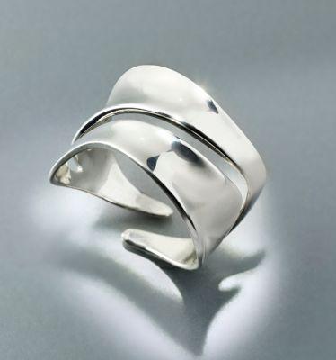 CM Ring Prata, 925er Silber