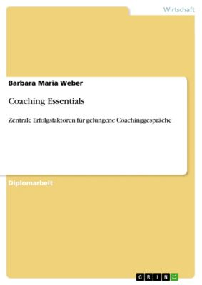 Coaching Essentials, Barbara Maria Weber