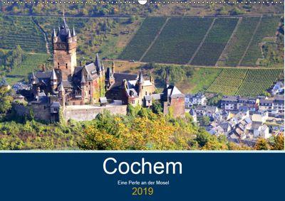 Cochem - Eine Perle an der Mosel (Wandkalender 2019 DIN A2 quer), Arno Klatt
