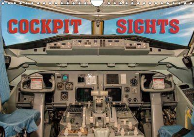 Cockpit sights (Wall Calendar 2019 DIN A4 Landscape), Andy D.