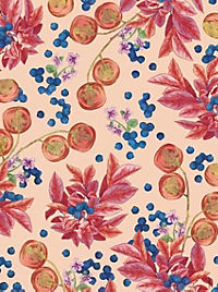 Cocktail Garten Geschenkpapier-Heft - Motiv Blaubeeren - Produktdetailbild 1
